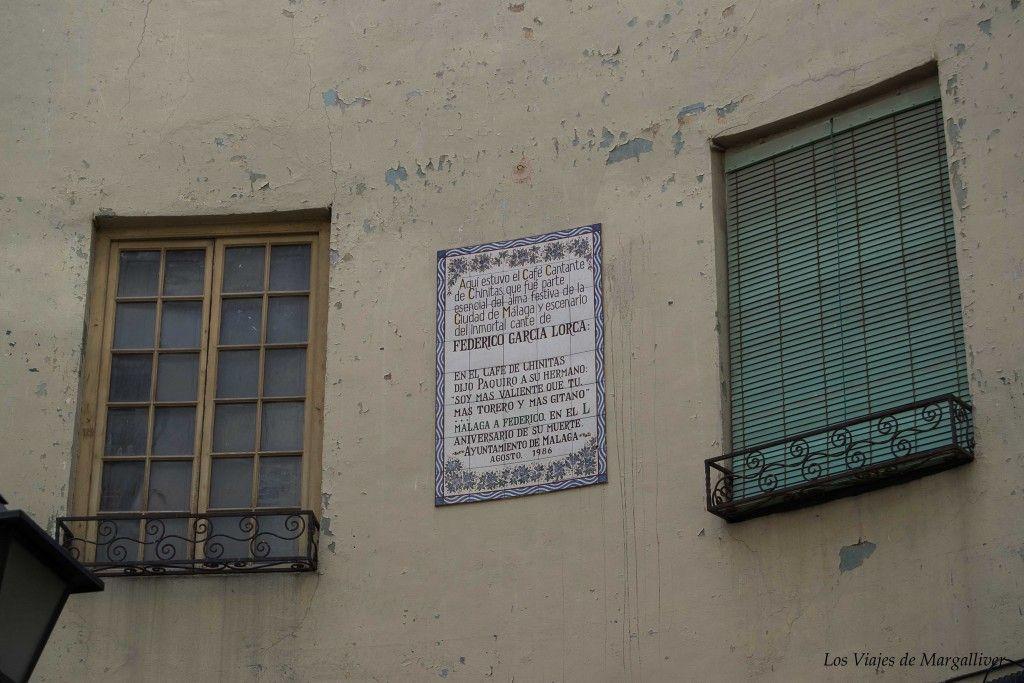 Ruta por Málaga ,café chinitas malaga - los viajes de margalliver